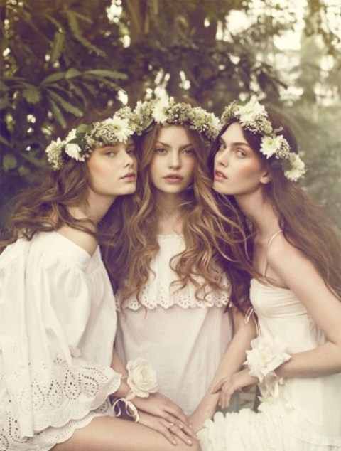 26 Beautiful Bridal Style Flower Crowns