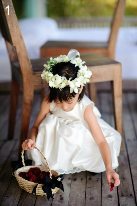 Beautiful Bridal Style Flower Crowns