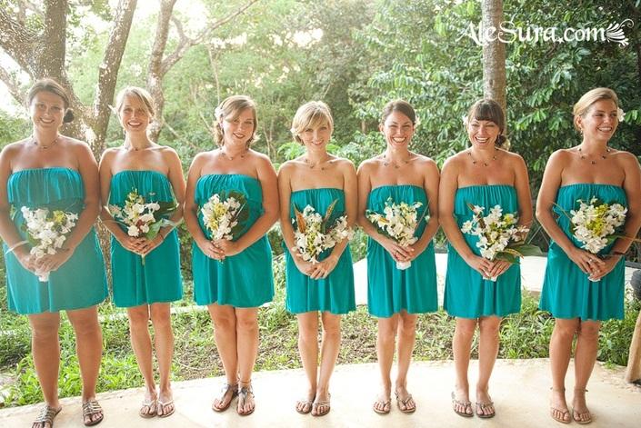 66 Beautiful Bridesmaids&-39- Dresses For Beach Weddings - Weddingomania