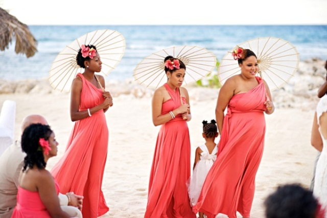 Picture Of Beautiful Bridesmaids Dresses For Beach Weddings