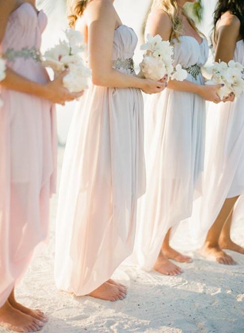 Dresses For Beach Wedding Bridesmaid : Beautiful bridesmaids dresses for beach weddings weddingomania