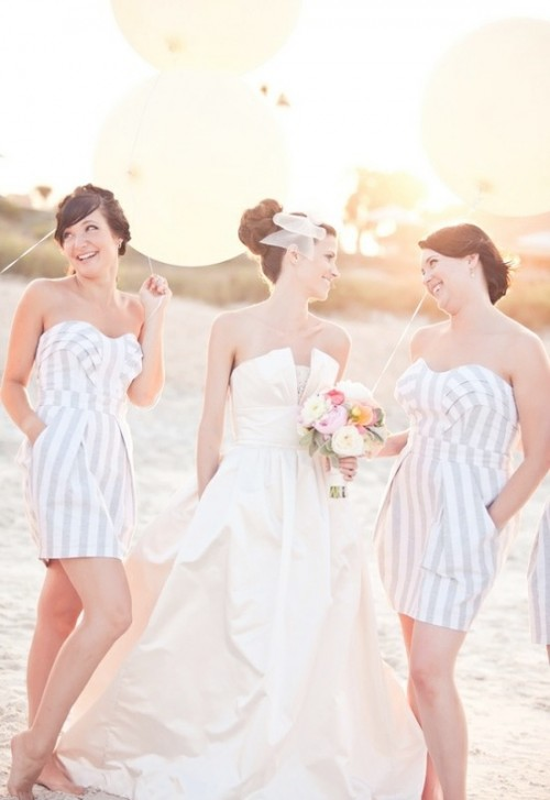 66 Beautiful Bridesmaids' Dresses For Beach Weddings