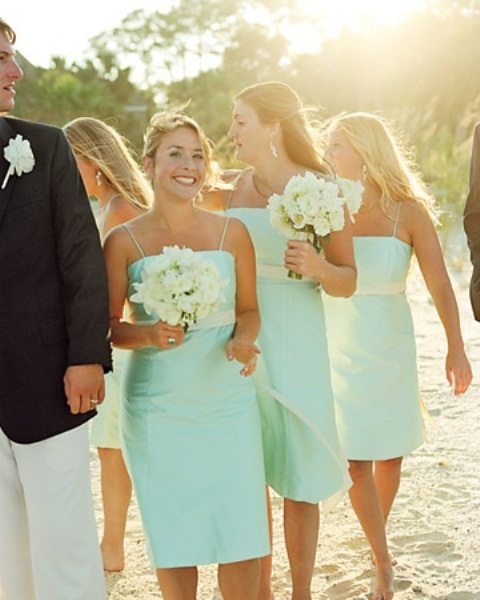 Beach Wedding Bridesmaid Dresses