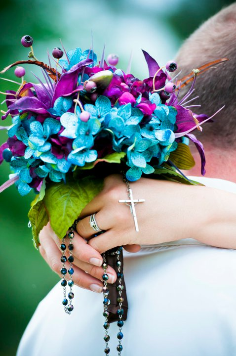 57 Beautiful Bright Summer Wedding Bouquets