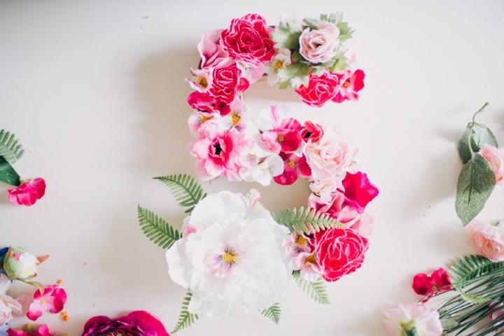 floral monogram sofia plana wedding photography