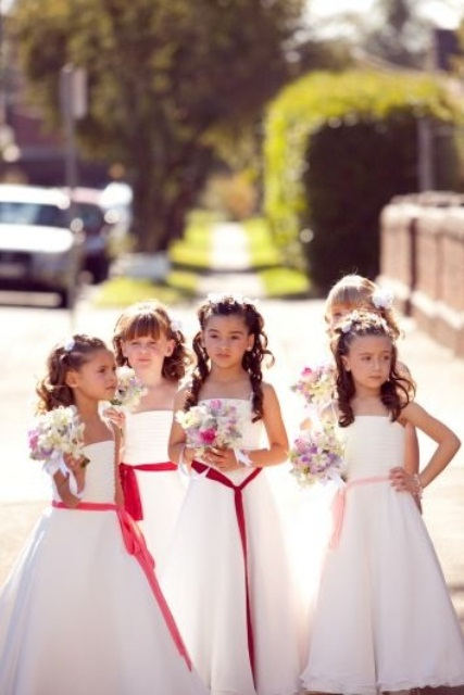 Beautiful Flower Girl Dress Ideas | Weddingomania