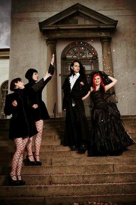 Beautiful Halloween Bridesamids Dresses