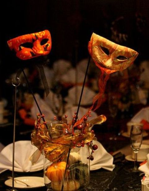 beautiful halloween wedding centerpieces - Halloween Centerpieces Wedding