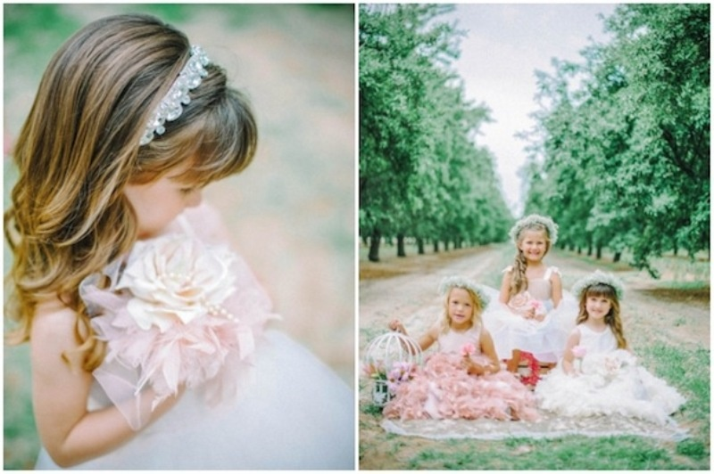 Picture Of Beautiful Princess Like Flower Girl Dresses From Amalee ...