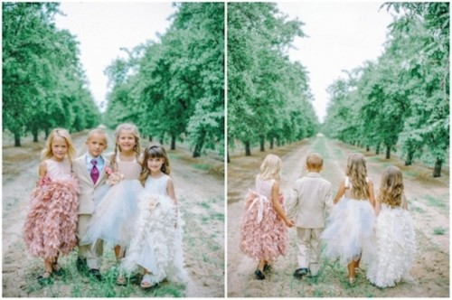 Beautiful Princess Like Flower Girl Dresses From Amalee Accessories