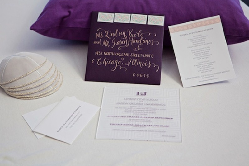 Picture Of beautiful shades of purple destination wedding in athens  1