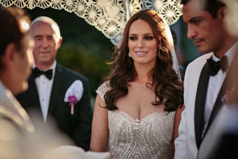 Picture Of beautiful shades of purple destination wedding in athens  13