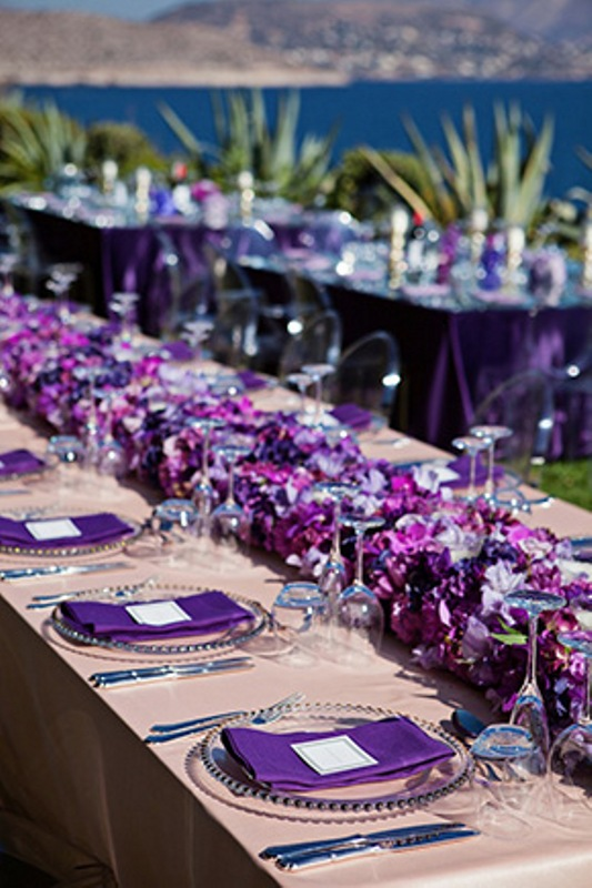 Of beautiful shades of purple destination wedding in athens 22