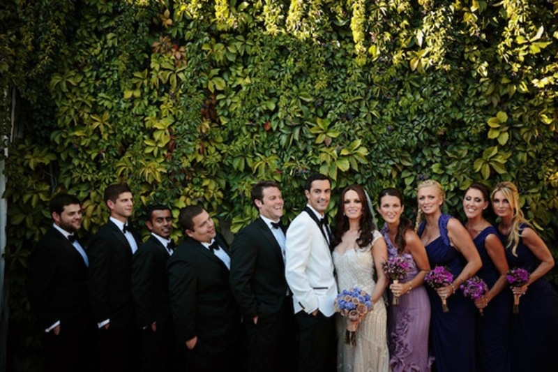 Picture Of beautiful shades of purple destination wedding in athens  6