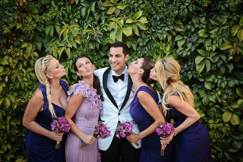 Picture Of beautiful shades of purple destination wedding in athens  7