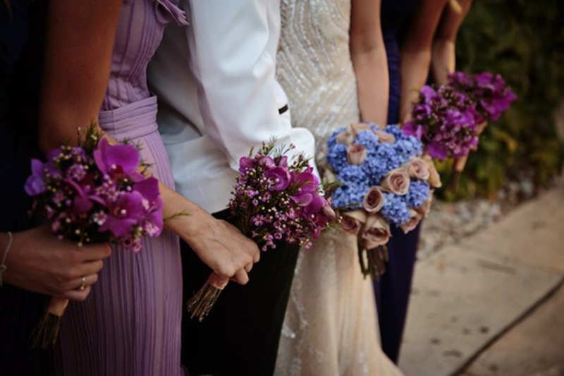 Picture Of beautiful shades of purple destination wedding in athens  8