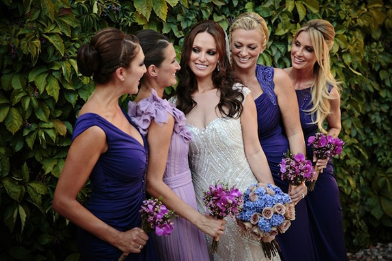 Picture Of beautiful shades of purple destination wedding in athens  9