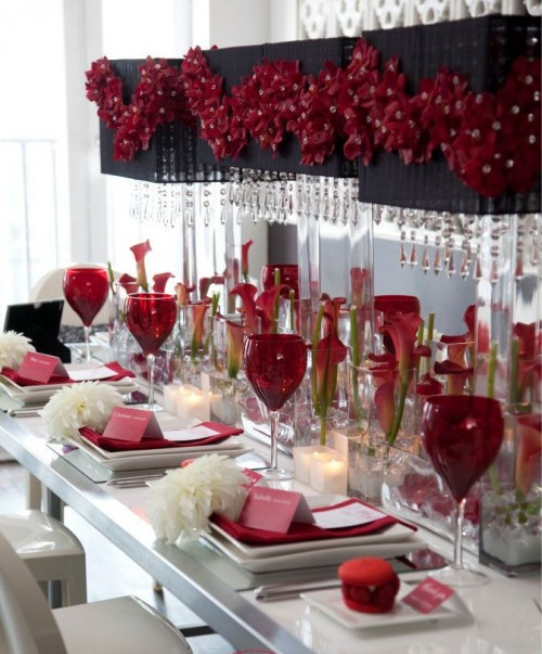26 Beautiful Valentine S Day Wedding Tablescapes