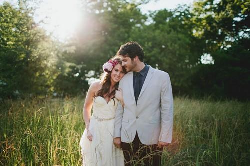 Berry Hued Botanical Wedding Shoot
