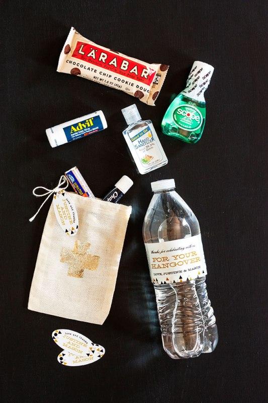 Best Guest Favor Ever Diy Wedding Hangover Kit