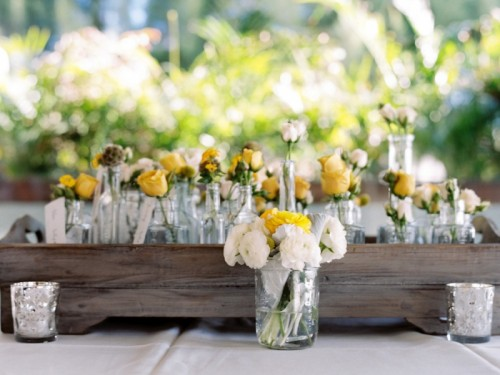 Black Yellow And White Maui Destination Wedding