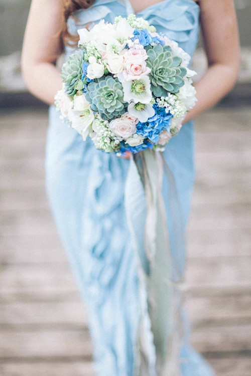 Blue Beach Destination Wedding Shoot