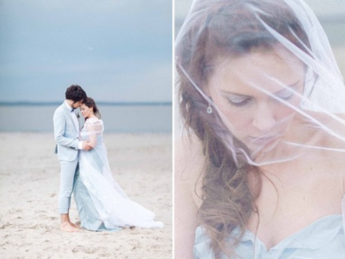 Blue Beach Destination Wedding Shoot