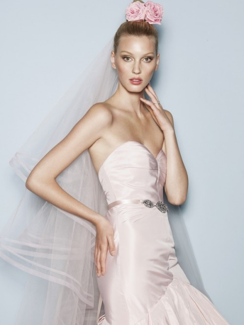 Blush Pink 2013 Watter's Wedding Gowns
