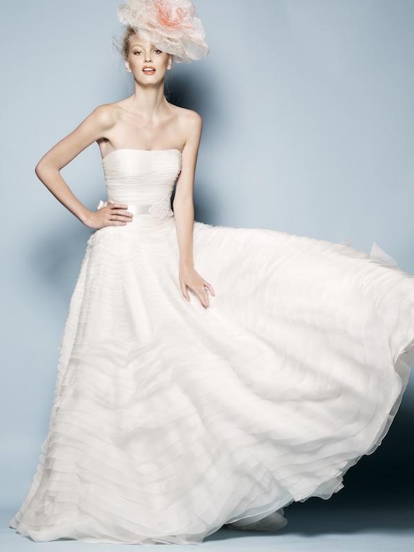 Blush Pink 2013 Watters Wedding Dresses