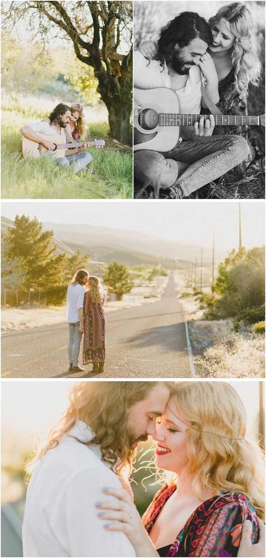 Bohemian And Hippie Styled Wedidng Shoot