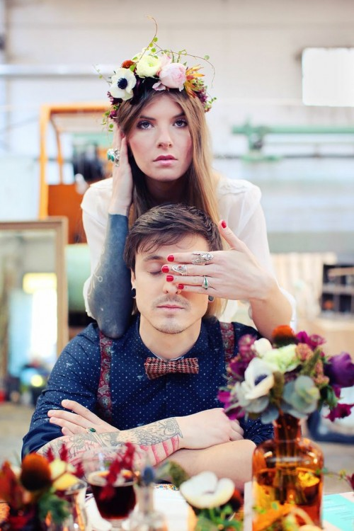 Bohemian Steampunk Wedding Inspiration From France