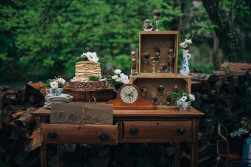Bohemian Woodland Floral Wedding Inspiration