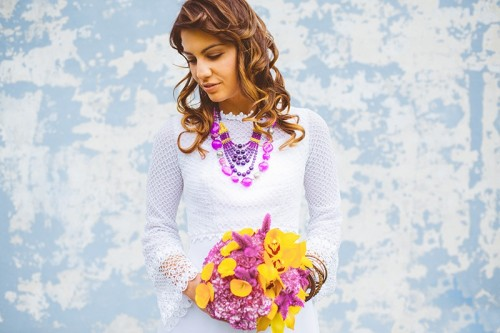 Boho Chic Eye Candy: Colorful Gypsy Bridal Shoot