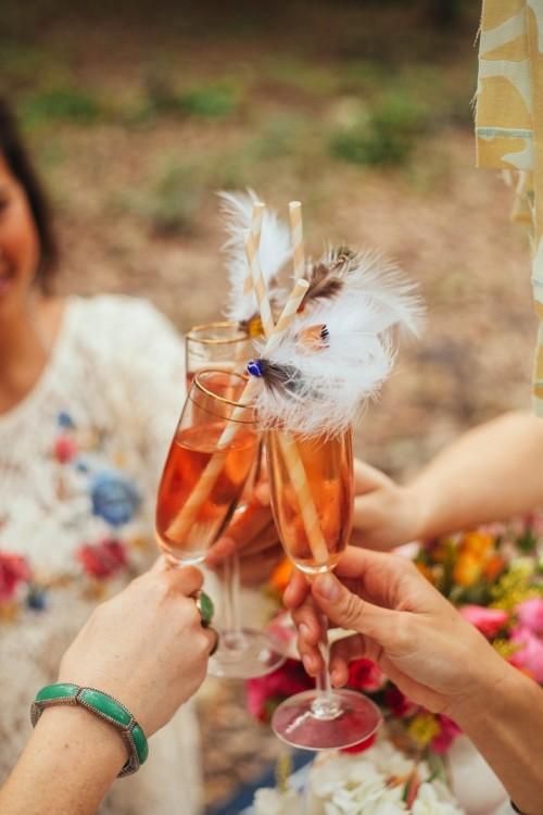 Boho Chic Teaparty Bridal Shower
