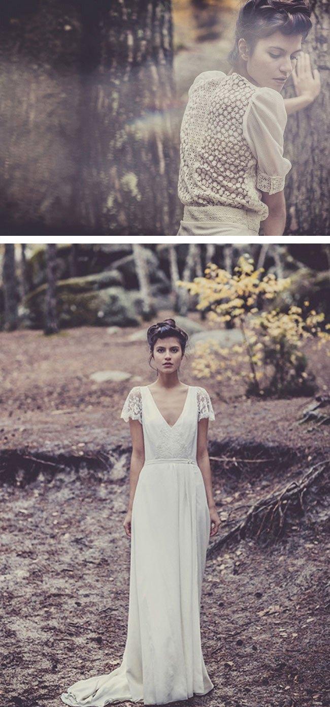 Wedding Boho Chic Wedding Dress boho chic wedding dresses collection by laure de sagazan laura sagazan
