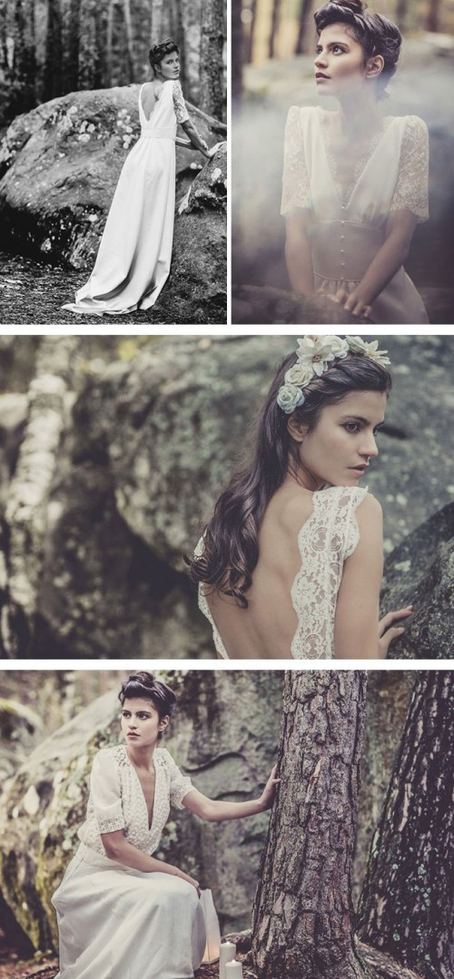 Boho Chic Wedding Dresses Collection By Laura De Sagazan