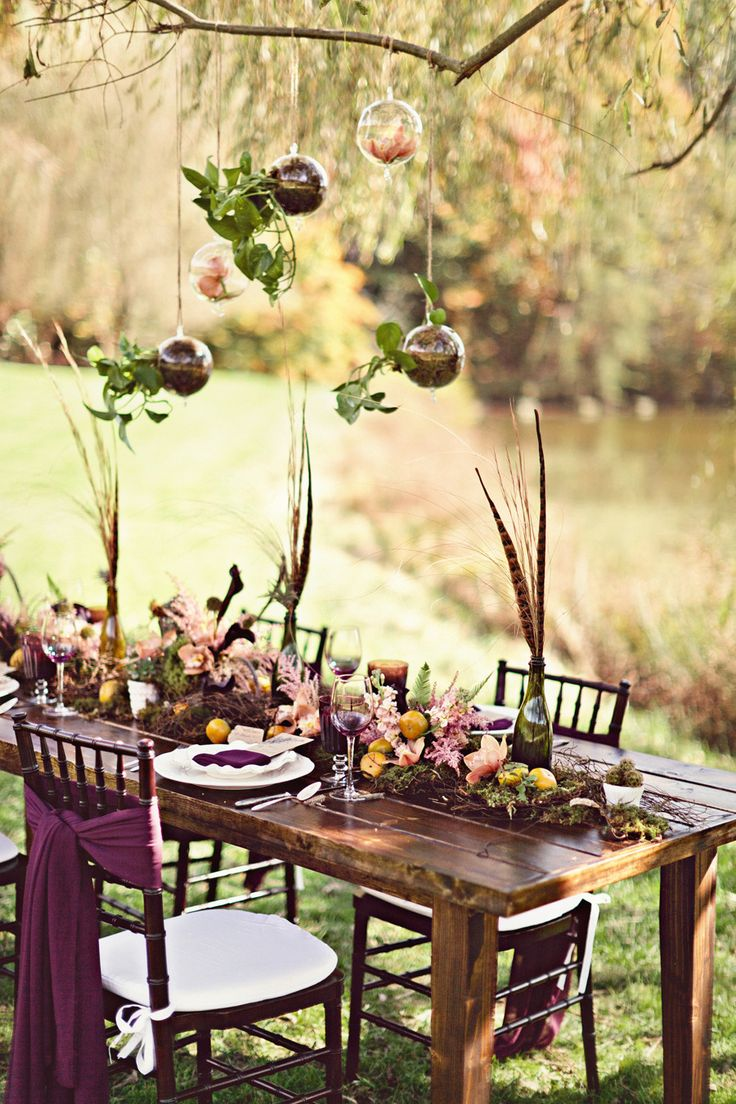 boho wedding table decorations picture of boho chic wedding table settings to get inspired 28 2013