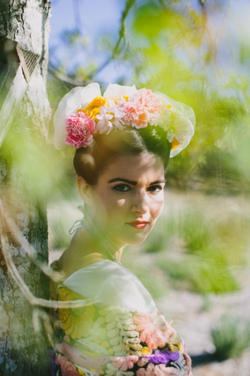 Bold And Colorful Frida Kahlo Wedding Inspirational Ideas