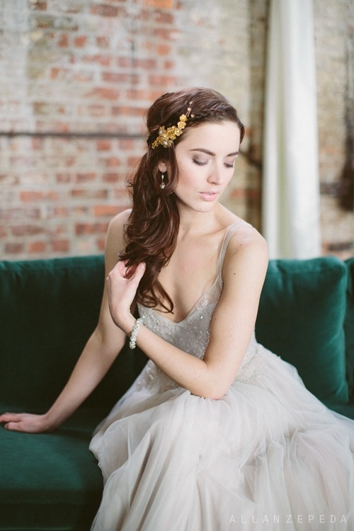 Bold And Dramatic Sleep Beauty Styled Shoot