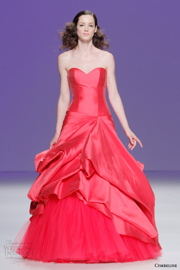 Bold Colored Dresses By Cymbeline Bridal