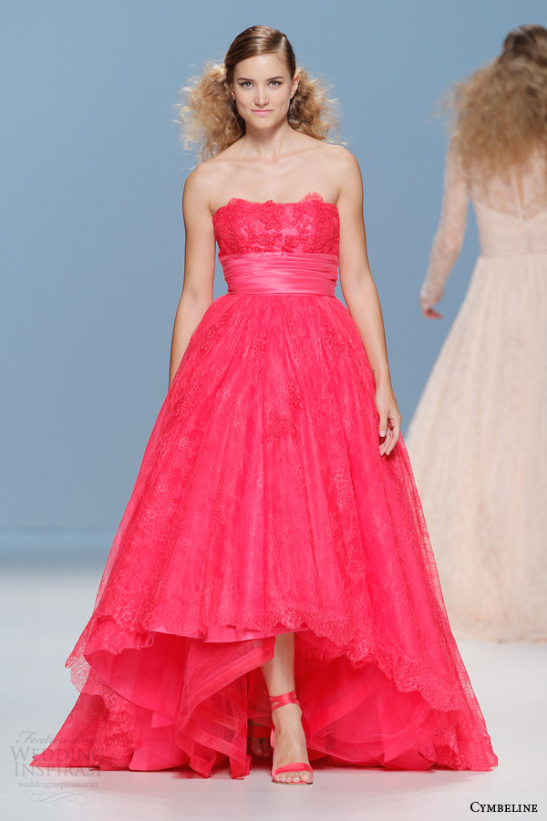 bold colored dresses by cymbeline bridal 2015 3 The 4 Main Dress Styles That Will Dominate In 2015