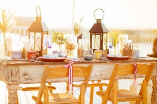 Sunlit Nautical-Inspired Bridal Shower