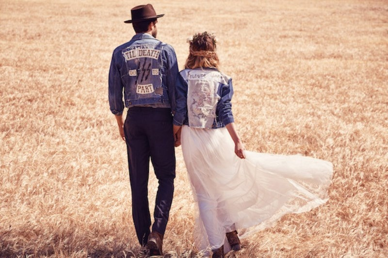 Picture Of breathtaking free people ever after boho bridal dresses collection  10