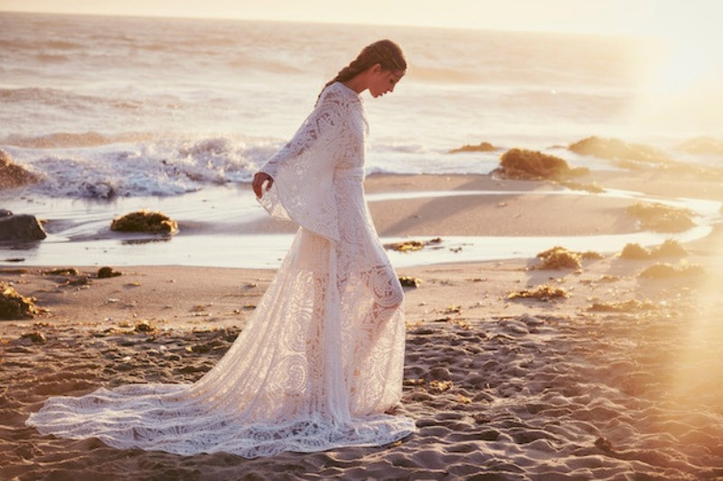 Picture Of breathtaking free people ever after boho bridal dresses collection  12