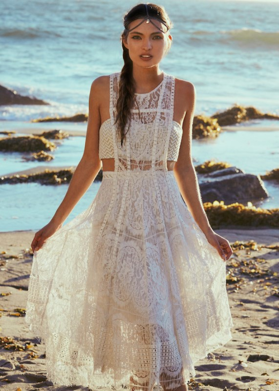 Picture Of breathtaking free people ever after boho bridal dresses collection  2