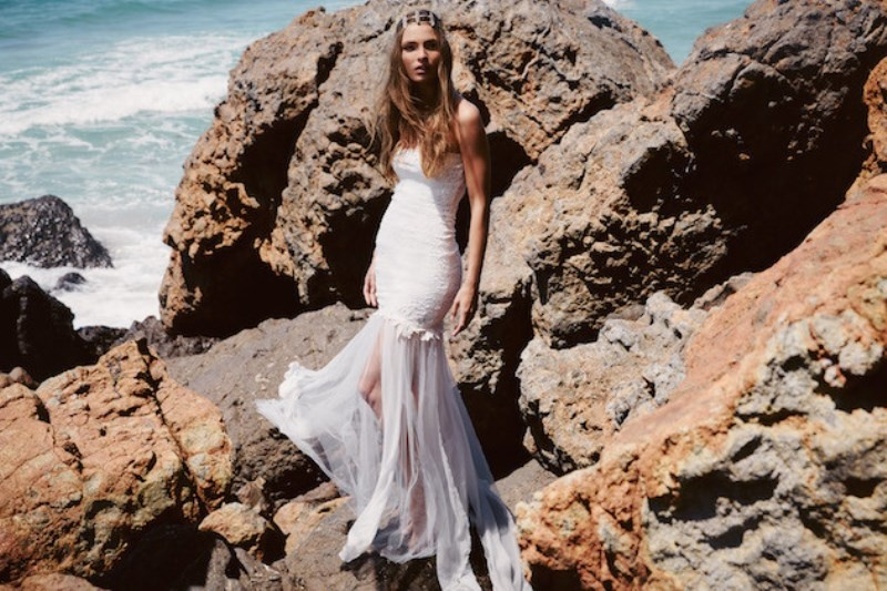 Picture Of breathtaking free people ever after boho bridal dresses collection  4