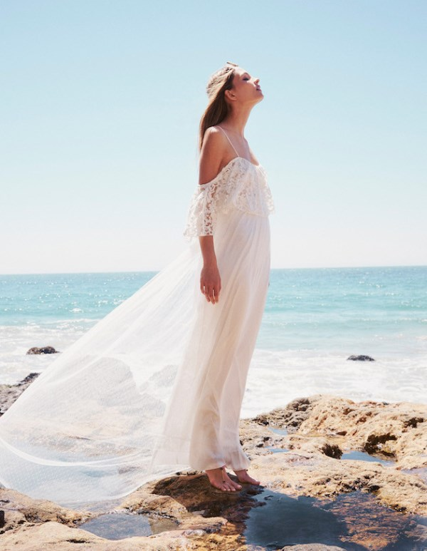 Picture Of breathtaking free people ever after boho bridal dresses collection  5