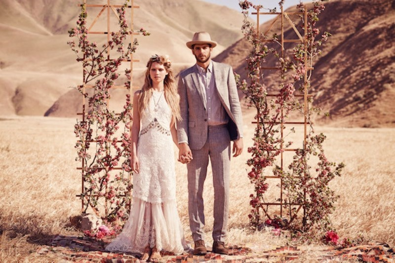 Picture Of breathtaking free people ever after boho bridal dresses collection  6