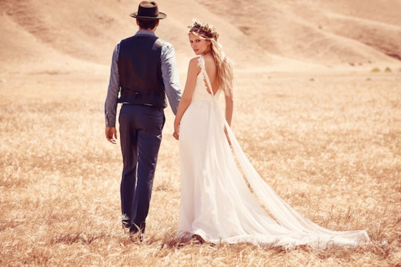 Picture Of breathtaking free people ever after boho bridal dresses collection  8
