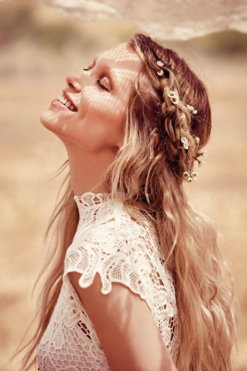 Breathtaking Free People Ever After Boho Bridal Dresses Collection